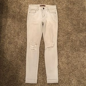Faded Grey Joes Jeans